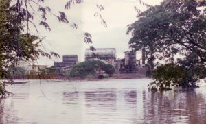 "Efecto del ""Huracán Juana"" octubre de 1988"